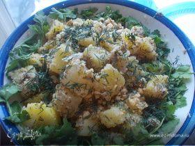 Ореховый салатик