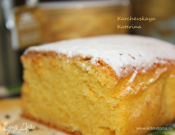 Сливочный кекс с апельсиновой ноткой