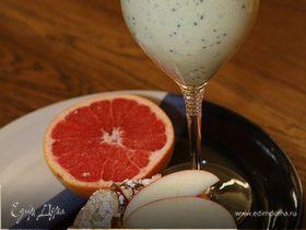 Сливочный коктейль с киви и лимонным соком