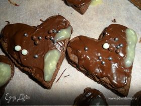 Шоколадные сердечки