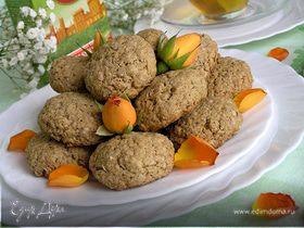Овсяное печенье с лимонной ноткой