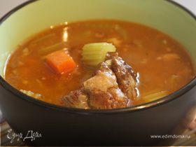 Суп из бычьих хвостов (Oxtail soup)