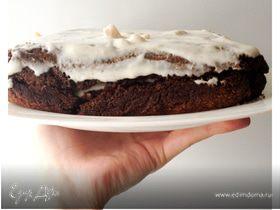 Гречнево-йогуртовый торт
