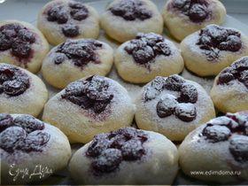 Печенье с вишней и с шоколадом
