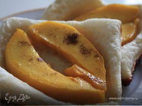 Слойки с манго