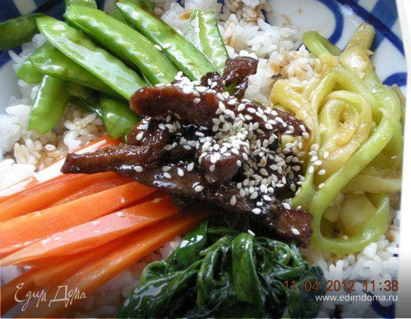 Бибимбап - Корейское национальное блюдо