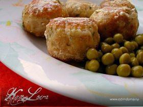 Индюшачьи фрикадельки с лимоном в йогуртовом соусе
