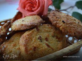 Печенье с курагой и кокосом