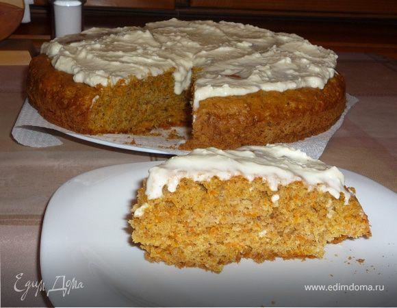 Морковный пирог (Carrot pie)