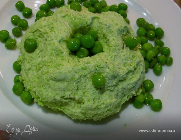 Мусс из зеленого горошка и спаржи