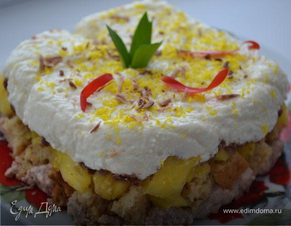 Десерт «Весеннее вдохновение»