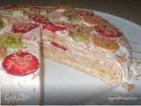Блинный тортик для Черешенки