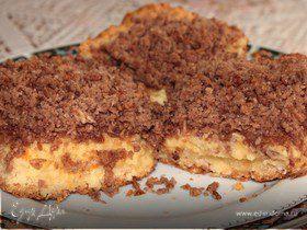 Баварский пирог с кокосово-шоколадным штрейзелем
