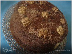 Кофейно-маковый торт