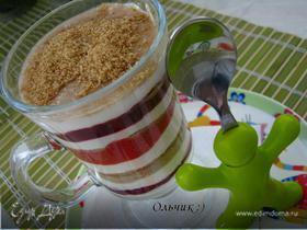 Полезный десерт для малышей (Парфе /от фр. parfait/)