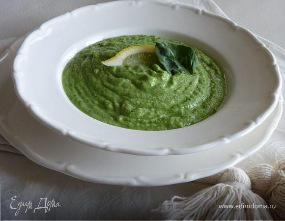 Суп из авокадо и йогурта