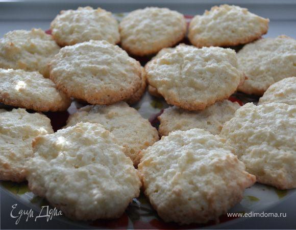 Кокосово-миндальное печенье