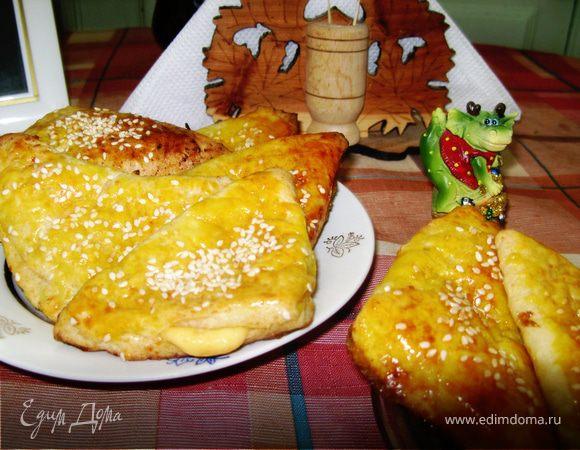 """Творожные слойки с сыром """"Мечта мышонка"""""""