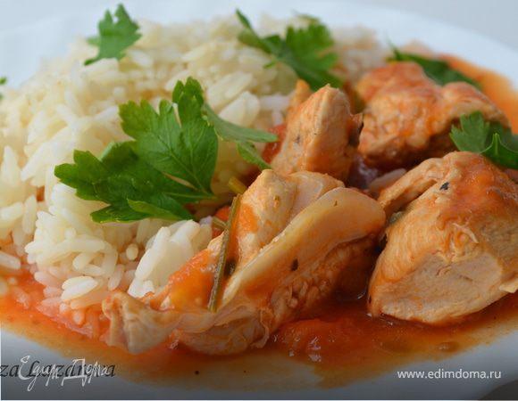 Куриное филе в пикантном соусе