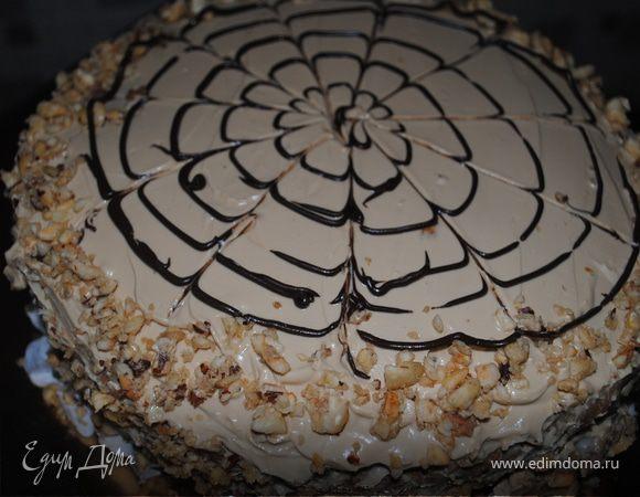 """Торт """" Фруктовый рог изобилия"""""""