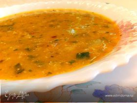 Овощной суп с орехами