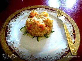 Салат из копченой форели и белой спаржи