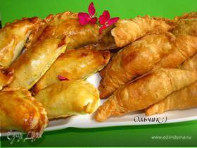 Малазийские слоеные пирожки (Karipap)