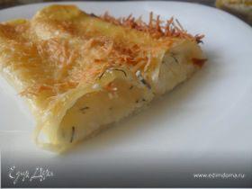 Каннелони с двумя видами сыра