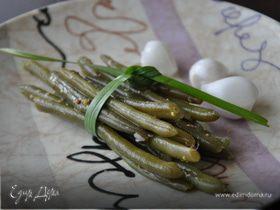 Стручковая фасоль в маринаде