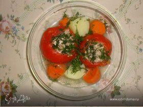 Фаршированные помидоры (Экспериментируй с Тефаль)