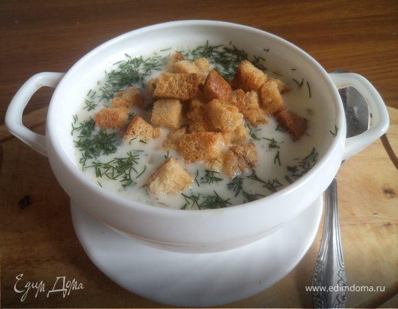 Простой сырный суп