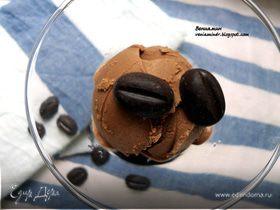 Шоколадно-кофейное мороженое с маскарпоне
