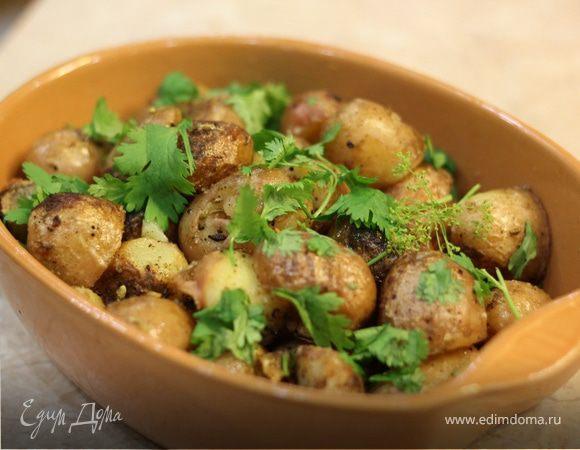 Запеченная молодая картошка по Джейми Оливеру без запекания