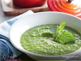 Детский суп из зеленого горошка