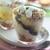 Творожно-фруктовый десерт с хлебом