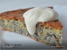 Маковый пирог от Джейми Оливера (Poppy seeds cake)