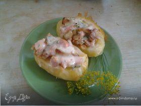 Фаршированный картофель (просто и вкусно)