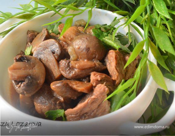 Паприкаш, или мясо по-венгерски с грибами