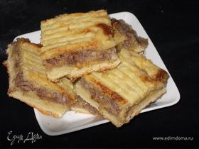 Пирог с медовой начинкой