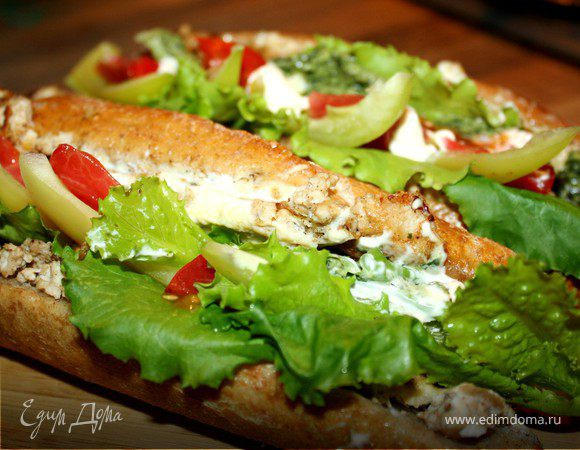 Турецкий бутерброд