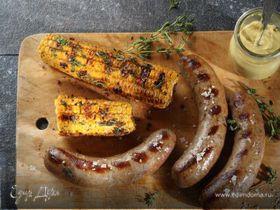 Колбаски из телятины и кукурузы