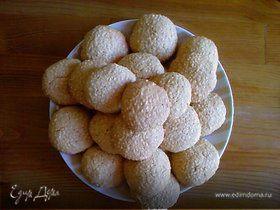 """""""Сим-сим"""", очень кунжутное печенье"""