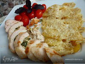 Куриные кармашки по-итальянски