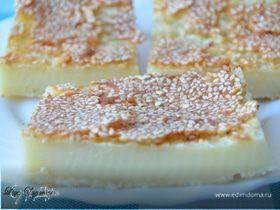 Куи бакар (малайский ванильный пирог)
