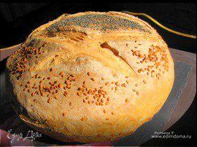 Ароматный воздушный пшеничный хлеб
