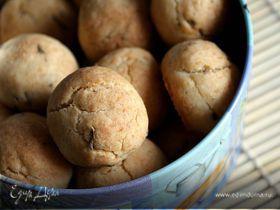 Кокосовое печенье с лавандой