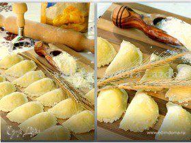 Ньокки с начинкой из моцареллы