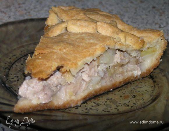 тесто для мясного пирога без сахара