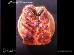 """Маково-ореховый пирог """"Крылья ангела"""" от немецких бабушек (Nuss-Mohnkuchen)"""