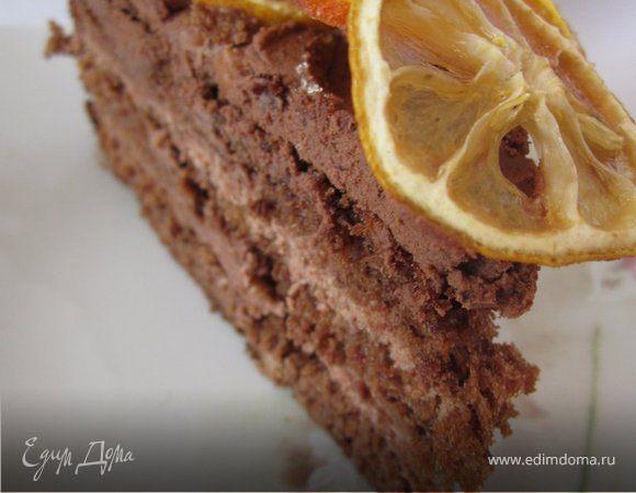 """Торт """"Кофейно-цитрусовый"""""""